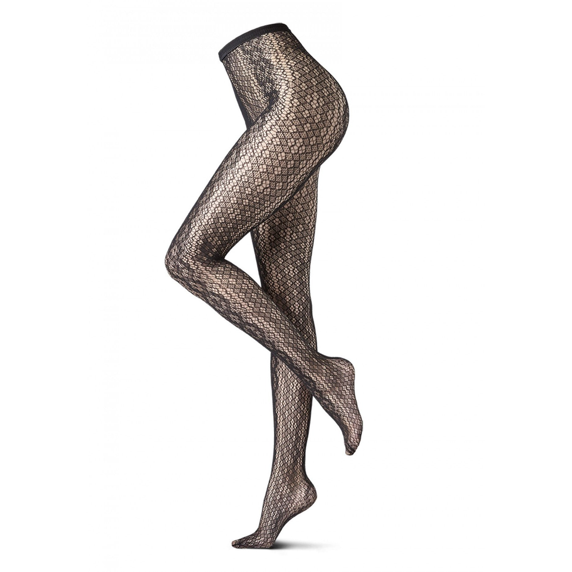 WILD NET TIGHTS BLACK REPTIL
