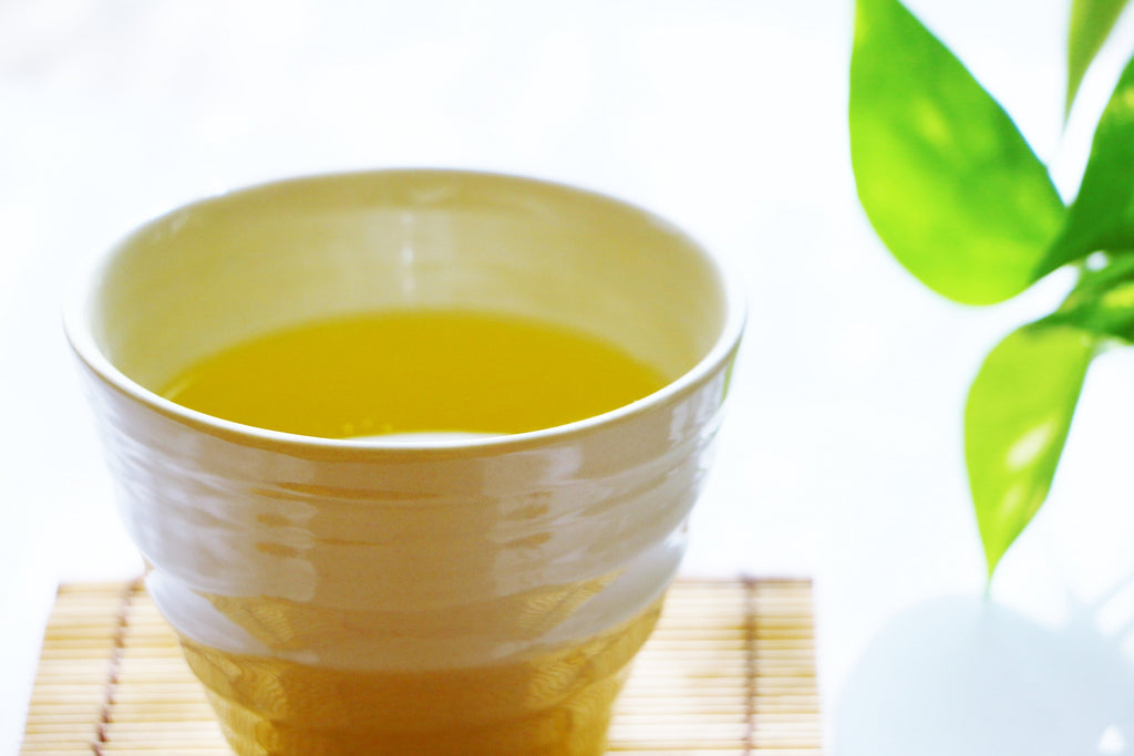 How about a hot green tea in summer?
