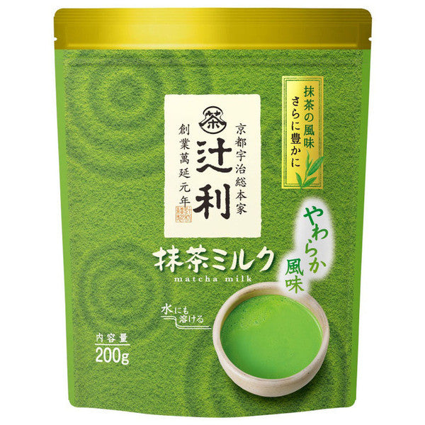 Tsujiri Matcha Green Tea Milk Powder 200g (about 12 servings)