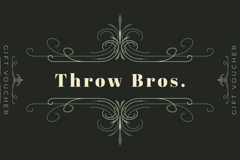 Throw Bros. Gift Card