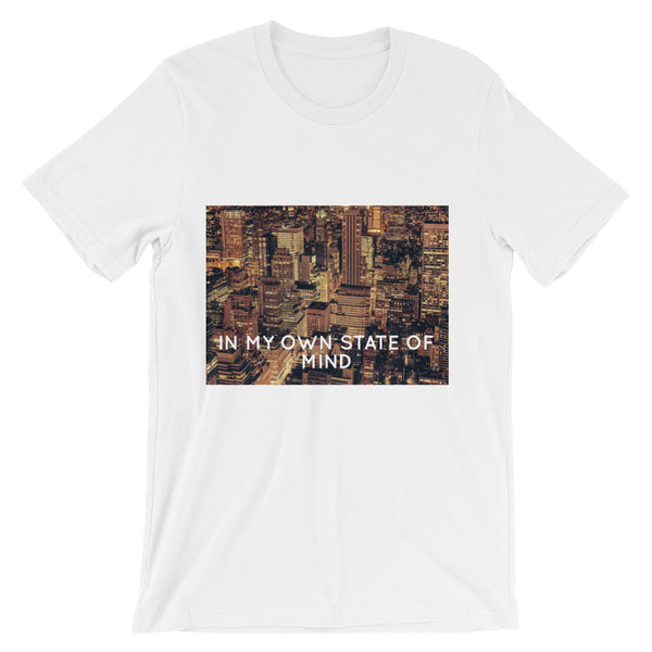 Own state of mind short sleeve t-shirt