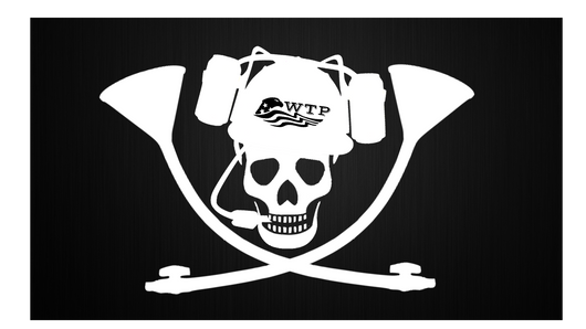 Skull and Crossbongs flag - WTPsports