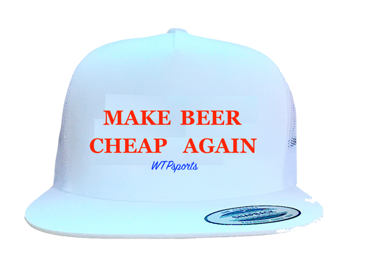 Make Beer Cheap Again hat (SOLD OUT) - WTPsports