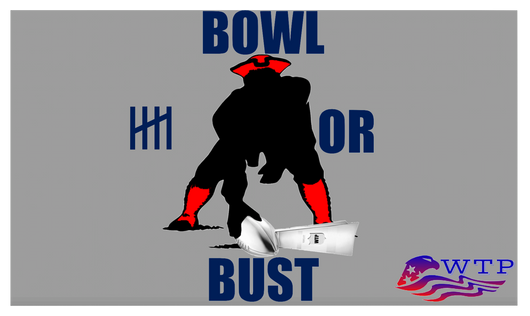 Bowl Or Bust flag - WTPsports