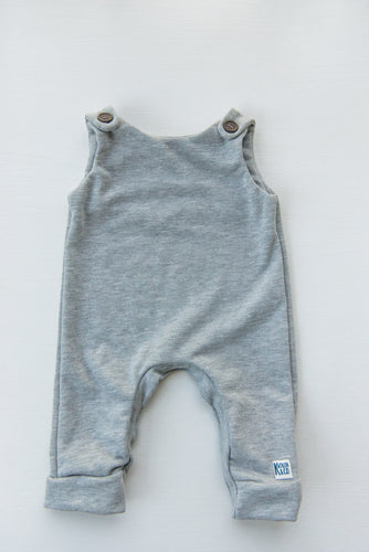 Unisex Jumpsuit - Light Grey