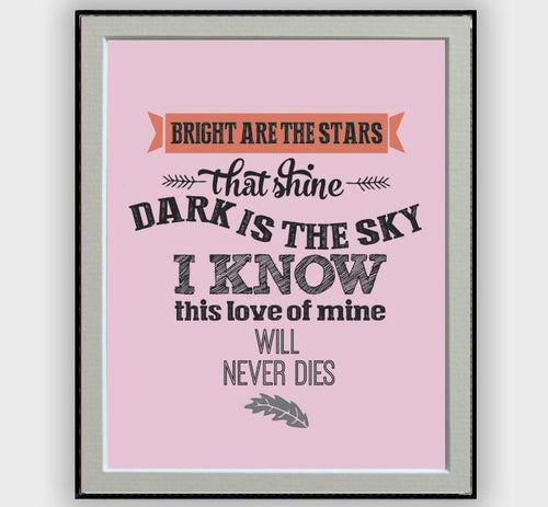 Songs and lyrics posters musicposters and i love her the beatles lyrics poster stopboris Image collections