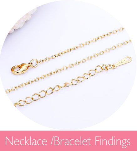 Necklace and Bracelet Findings