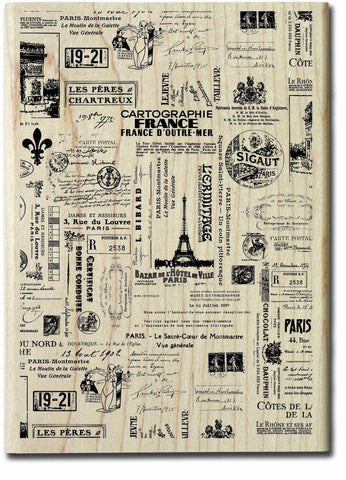 7Gypsies Wood Stamp Passage to France