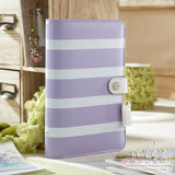 CLEARANCE!!!  - Personal Planner Kit - Lavender Stripe