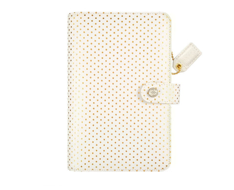 CLEARANCE!!!  - Webster Pages Personal Planner Gold Dot Kit