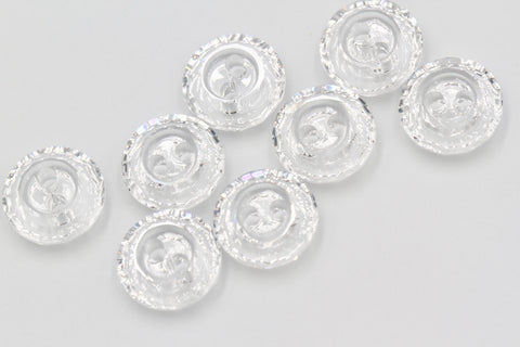1 /5/10pcs,  Genuine Swarovski 3122 Button, 10mm in Crystal