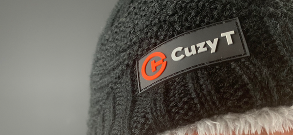 CUZY T WINTER BEANIE - BLACK/GREY