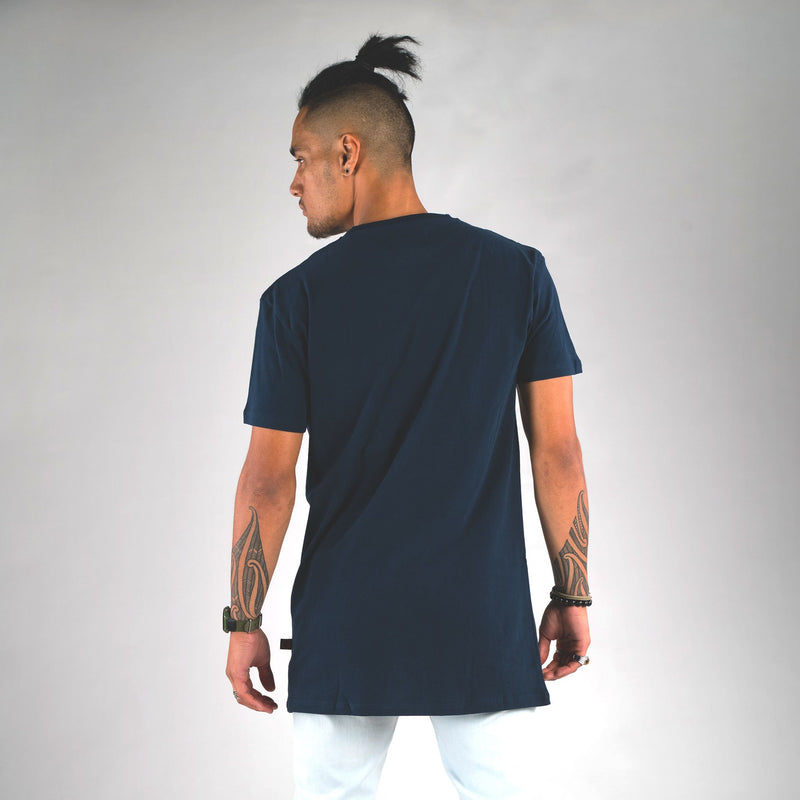 BEATS TALL TEE NAVY