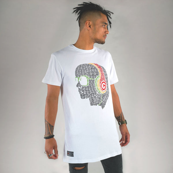 BEATS TALL TEE WHITE