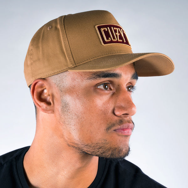 ENTYCE CAP LIGHT BROWN