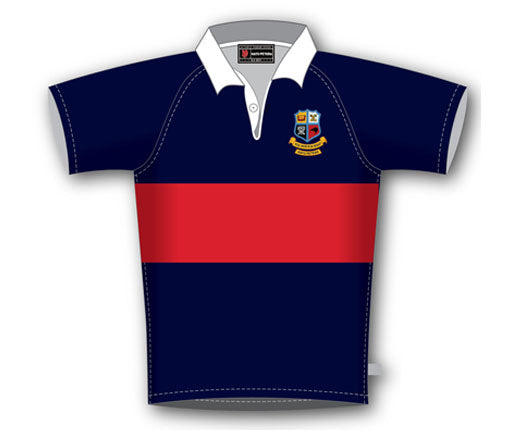 Hato Petera 1st and 2nd XV  Rugby Jersey  SHIPPING INCLUDE!!