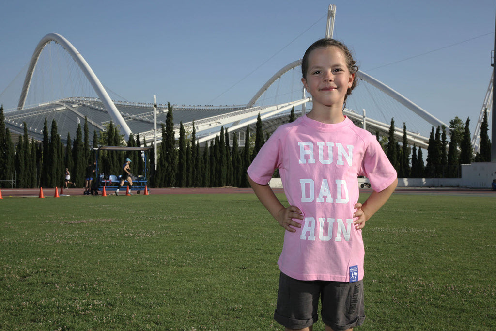 Girls' t-shirts (Run Dad Run)
