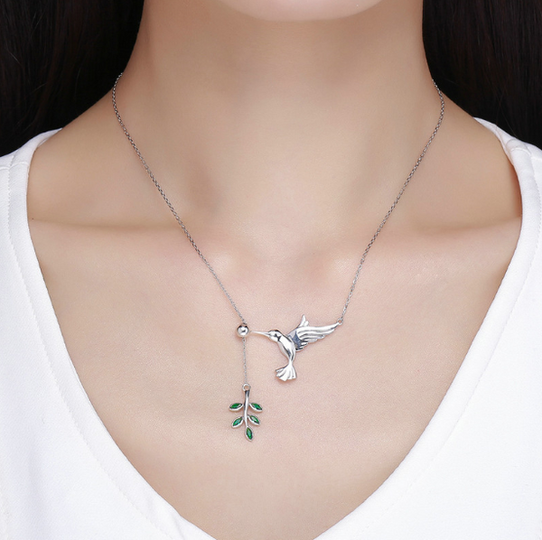 Birds Fly Free Necklace (sbN217)