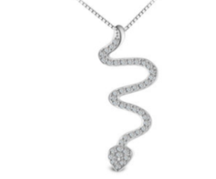 Serpent Necklace (T119)