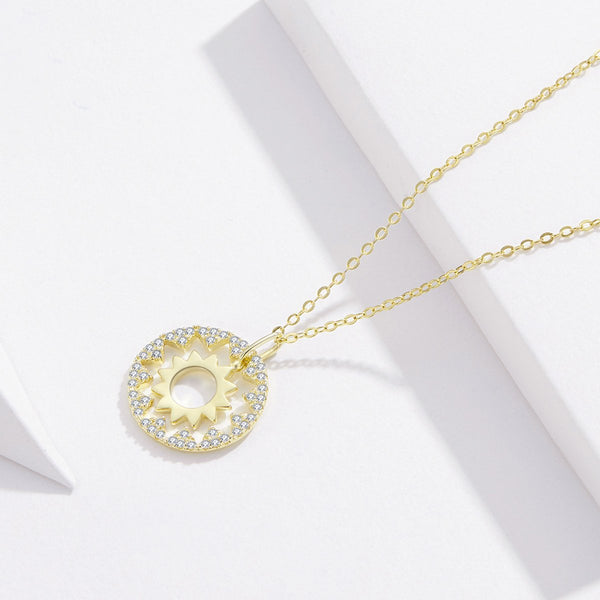Around the Sun Necklace (SBSN081)