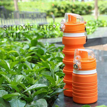 Load image into Gallery viewer, Cool Buddy™ Collapsible Silicone Water Bottle