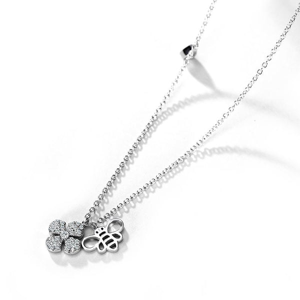 Garden Bloom Necklace (T378) 17""