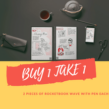 Load image into Gallery viewer, BUY 1 TAKE 1 Rocketbook Wave With FREE Pen each