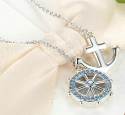 Ship Ahoy! Necklace (sbN049)