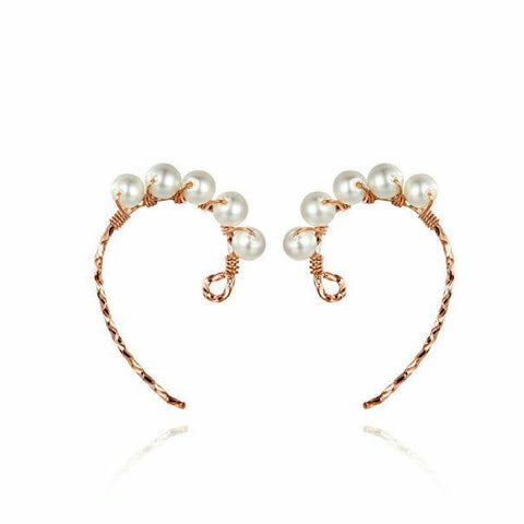 Pearl in me Earrings (SBE614-SS)