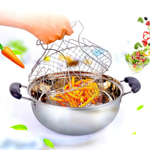 Chef Basket Kitchen Strainer - Best Seller