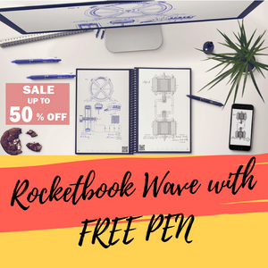 Rocketbook Wave™ With FREE Pen