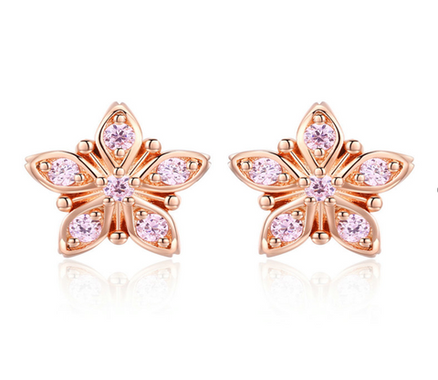 Beauty sakura earring (SBSE034)