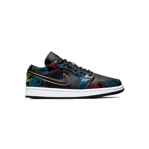 Air Jordan 1 Retro Low Multicolor Snakeskin Women's