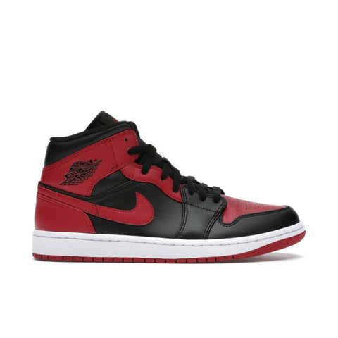 Air Jordan 1 Retro Mid Banned Bred Men's