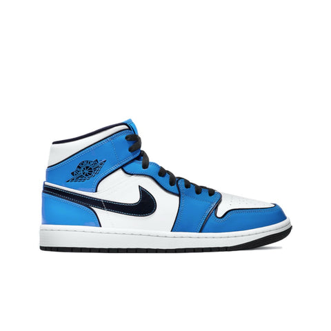 Air Jordan 1 Retro Mid SE Signal Blue Men's