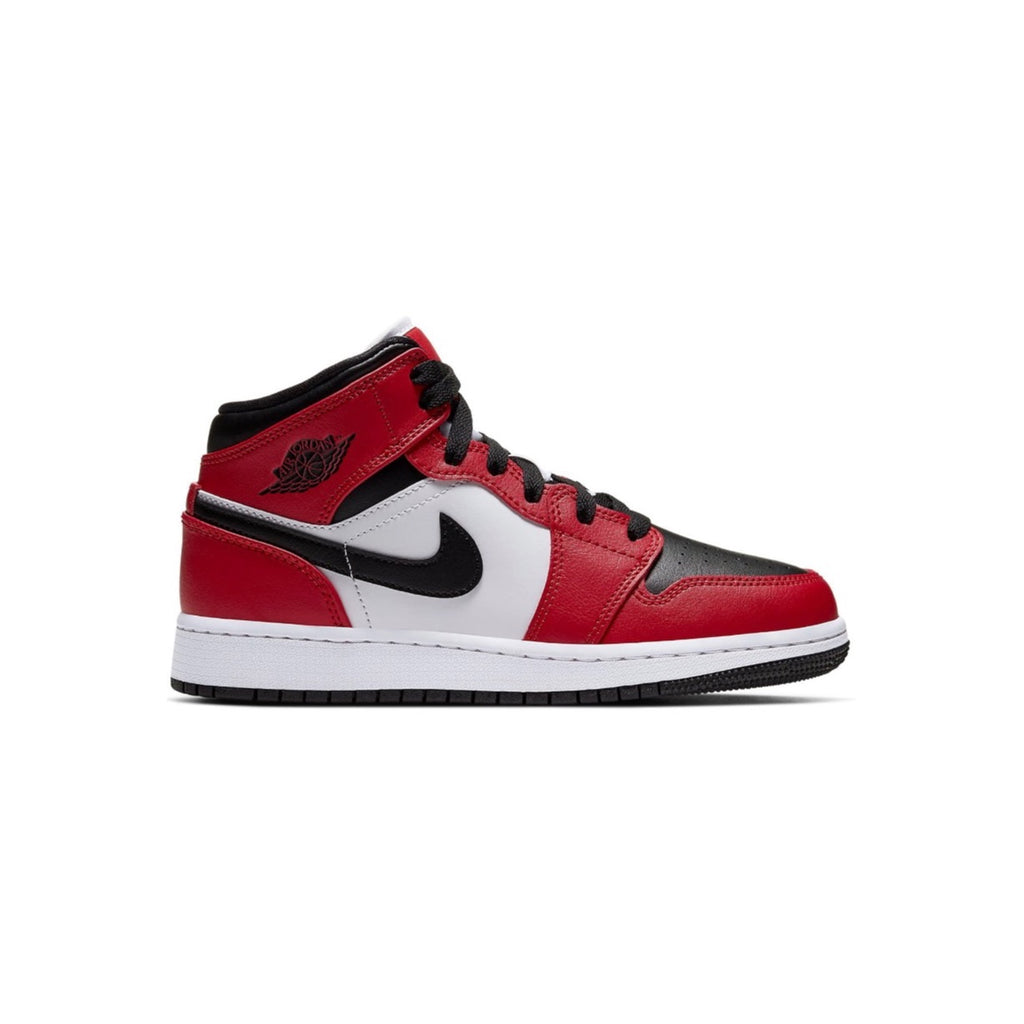 Air Jordan 1 Retro Mid Chicago Black Toe Kids