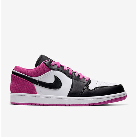 Air Jordan 1 Retro Low SE Black Fuchsia Men's
