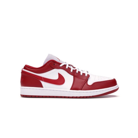 Air Jordan 1 Retro Low Gym Red White Men's