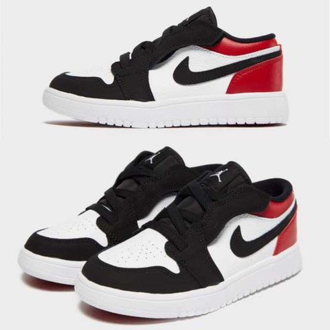 Air Jordan 1 Retro Low Black Toe Preschool