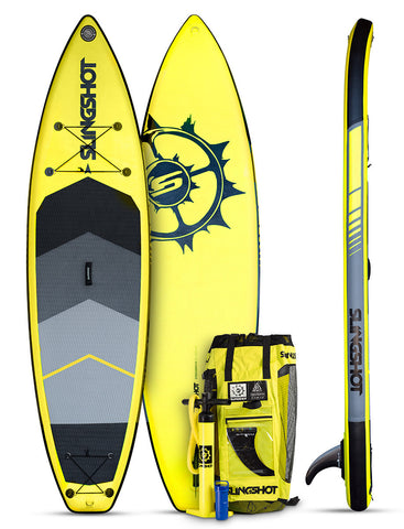 2017 Slingshot Crossbreed Airtech v3- 11' Yellow Inflatable SUP