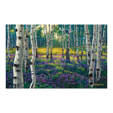 Meadow of Amethyst Hardcover Journal