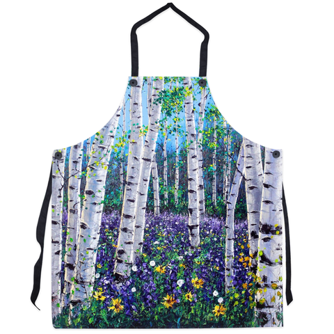 Spring Peace - Art Aprons