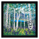 Peaceful Wonder 12x12 FREE Black Frame FREE Shipping