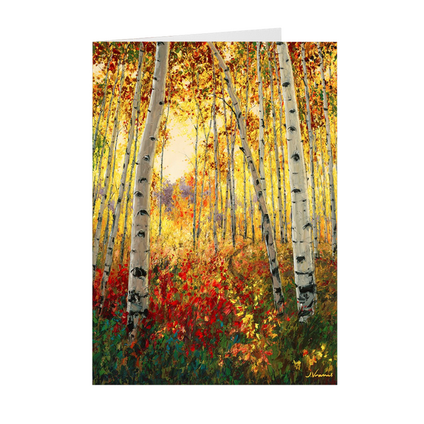 JensArtCards - 4 Seasons Collection - FALL 5x7 with Envelopes