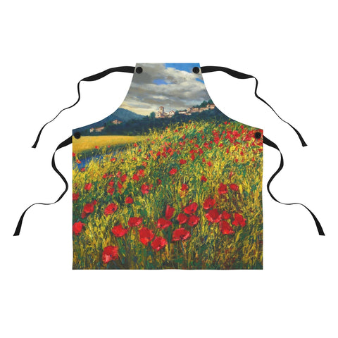 Apron - Tuscan Poppies