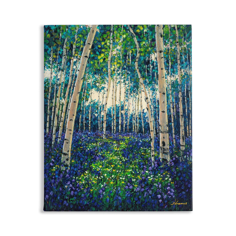 4 Seasons Collection, SPRING, 20x16 Art Print on Canvas