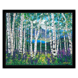 Peaceful Wonder 13x16 FREE Black Frame FREE Shipping