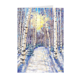 JensArtCards - 4 Seasons Collection - WINTER 5x7 with Envelopes