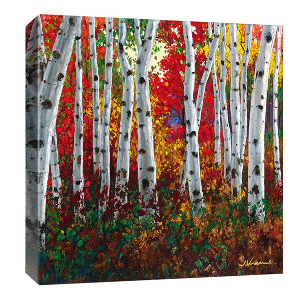 Autumn Jewel 12x12 Art Print, Plus FREE Phone Case