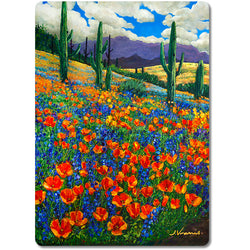 Desert Spring - Art Cutting Boards